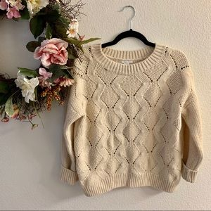 H&M Chunky Knit Sweater Size M
